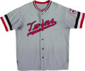 Baseball Collectibles:Uniforms, 1972 Minnesota Twins Game Worn Jersey with Unique Patch. . ...