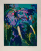 LeRoy Neiman (American, 1921-2012) Portrait of an Elephant Serigraph in colors on wove paper 28-1/8 x 23-1/4 inches (