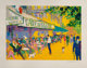 LeRoy Neiman (American, 1921-2012) L'Apres-Midi D'or, 1999 Serigraph in colors on wove paper 23-1/2 x 32 inches (59.7