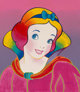 Peter Max (American, b. 1937) Snow White, Suite IV, 1994 Serigraph in colors on smoothe wove paper 16 x 14 inches (40...
