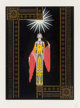 Erté (Romain de Tirtoff) (Russian/French, 1892-1990) La Princess Lointaine, 1984 Screenprint in colors on paper 2...