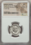 Ancients:Ancient Lots  , Ancients: ANCIENT LOTS. Roman Imperial. Otacilia Severa (AD244-249). Lot of two (2) AR antoniniani. NGC MS.... (Total: 2coins)