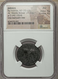 Ancients:Judaea, Ancients: JUDAEA. Bar Kochba Revolt (AD 132-135). AE 'MiddleBronze' (11.02 gm). NGC AU 4/5 - 4/5....
