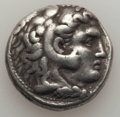 Ancients:Greek, Ancients: MACEDONIAN KINGDOM. Alexander III the Great (336-323 BC).AR tetradrachm (16.81 gm). About VF....