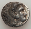 Ancients:Greek, Ancients: MACEDONIAN KINGDOM. Alexander III the Great (336-323 BC).AR tetradrachm (16.99 gm). About VF, deposits....
