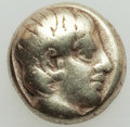 Ancients:Greek, Ancients: LESBOS. Mytilene. Ca. 454-428/7 BC. EL sixth stater orhecte (2.73 gm). Fine....