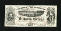 "Canadian Currency: , Montreal, PQ- Banks of the St. Lawrence 500 Views circa 1860s. Thisis a great advertising note that plays on the word ""Bank..."