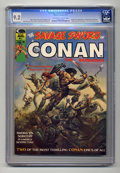 Magazines:Superhero, Savage Sword of Conan #1 (Marvel, 1974) CGC NM- 9.2 Off-white towhite pages. ...