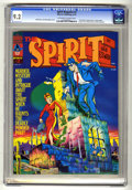 Magazines:Superhero, The Spirit #2 (Warren, 1974) CGC NM- 9.2 Off-white to white pages....