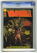 Magazines:Horror, Vampirella #38 (Warren, 1974) CGC VF/NM 9.0 Off-white to whitepages. Second appearance of the Blood Red Queen of Hearts. Go...