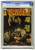 Magazines:Horror, Vampirella #47 (Warren, 1975) CGC VF/NM 9.0 Off-white to whitepages. Enrich cover. Gonzalez Mayo, Luis Bermejo, and Ramon T...