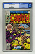 Bronze Age (1970-1979):Miscellaneous, Conan the Barbarian #87 (Marvel, 1978) CGC NM- 9.2 White pages. ...