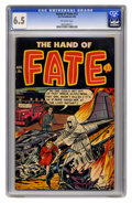 Golden Age (1938-1955):Horror, The Hand of Fate #12 (Ace, 1952) CGC FN+ 6.5 Off-white pages.Overstreet 2005 FN 6.0 value = $63; VF 8.0 value = $118. CGC c...