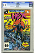 Modern Age (1980-Present):Science Fiction, Hex #1 (DC, 1985) CGC NM/MT 9.8 White pages. ...
