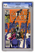 Modern Age (1980-Present):Science Fiction, Star Wars #60 (Marvel, 1982) CGC NM+ 9.6 White pages. Origin ofShira Brie. Plif, Admiral Giel, and Colonel Malka appearance...
