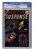 Silver Age (1956-1969):Mystery, World of Suspense #5 (Atlas, 1956) CGC VF- 7.5 White pages. ...