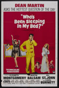 "Movie Posters:Comedy, Who's Been Sleeping in My Bed? (Paramount, 1963). One Sheet (27"" X 41""). Romantic Comedy. Starring Dean Martin, Elizabeth Mo..."