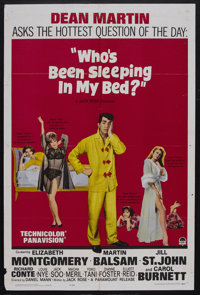 """Who's Been Sleeping in My Bed? (Paramount, 1963). One Sheet (27"""" X 41""""). Romantic Comedy. Starring Dean Martin..."""