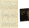 Military & Patriotic:Civil War, Civil War Letters From A Soldier At the Siege of Petersburg to His Sister Six letters ranging from one to four pages, about ... (Total: 7 )