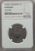 Argentina, Argentina: Republic 2 Soles 1826 RA-P VF Details (Cleaned) NGC,...