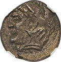 Ancients:Greek, Ancients: ZEUGITANA. Libyan Revolt (ca. 241-238 BC). BI shekel(7.61 gm). NGC AU 3/5 - 4/5, overstruck. ...