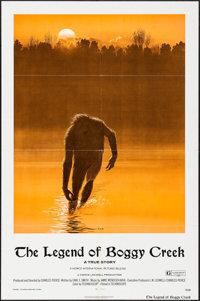 "The Legend of Boggy Creek & Other Lot (Howco, 1973). One Sheets (2) (27"" X 41"") Ralph McQuarrie Artwork. T..."