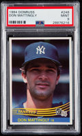 Baseball Cards:Singles (1970-Now), 1984 Donruss Don Mattingly #248 PSA Mint 9....