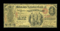 National Bank Notes:Vermont, Burlington, VT - $1 Original Fr. 380 The Merchants NB Ch. # 1197. ...
