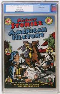 Picture Stories From American History #2 Gaines File pedigree 3/11 (EC, 1946) CGC NM+ 9.6 Off-white to white pages