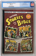 Golden Age (1938-1955):Religious, Picture Stories From the Bible - Complete New Testament - GainesFile pedigree (EC, 1946) CGC NM+ 9.6 Off-white to white pages...