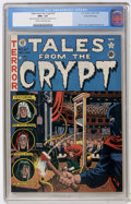 Golden Age (1938-1955):Horror, Tales From the Crypt #27 Gaines File pedigree (EC, 1951) CGC NM+9.6 Cream to off-white pages....