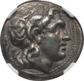 Ancients:Greek, Ancients: THRACIAN KINGDOM. Lysimachus (305-281 BC). AR tetradrachm(16.76 gm). NGC XF 5/5 - 3/5....
