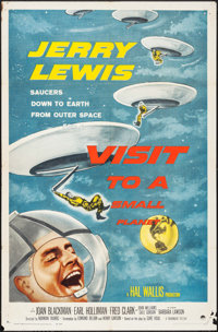 """Visit to a Small Planet (Paramount, 1960). One Sheet (27"""" X 41""""). Comedy"""