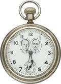 Political:Small Miscellaneous (1896-present), Cox & Roosevelt: Supremely Rare Jugate 1920 Campaign Watch. ...