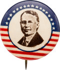 Political:Pinback Buttons (1896-present), James M. Cox: Rare and Colorful Picture Pin....