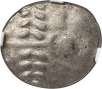 Ancients: BRITAIN. Durotriges. Ca. 65 BC-AD 45. BI stater (3.74 gm). NGC MS 4/5 - 5/5