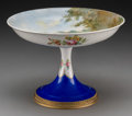 Ceramics & Porcelain, Continental:Other , A Sevres-Style Porcelain and Gilt Bronze-Mounted Compote, late 19thcentury. Marks: COLLOT, FRANCE, (pseudo-Sevres m...