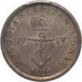 British West Indies, British West Indies: British Colony. George IV 1/4 Dollar 1822 MS63PCGS,...