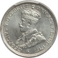 British West Africa, British West Africa: George V 6 Pence 1919-H MS66 PCGS,...