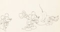 Animation Art:Production Drawing, Mickey's Gala Premier Mickey Mouse, ...
