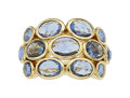 Estate Jewelry:Rings, Sapphire, Diamond, Gold Ring, Temple St. Clair...