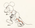 Animation Art:Production Drawing, Just Mickey (aka Fiddl...