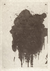 Christopher Wool (b. 1955) Untitled, 2002 Screenprint on Japanese paper 50-1/4 x 34-3/4 inches (1