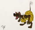 Animation Art:Production Cel, Bedknobs and Broomsticks Laughing Hyena Production Cel (WaltDisney, 1971).... (Total: 2 Items)