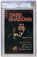 Silver Age (1956-1969):Horror, Dark Shadows #1 (Gold Key, 1969) CGC NM- 9.2 White pages....