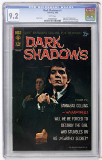 Dark Shadows #1 (Gold Key, 1969) CGC NM- 9.2 White pages