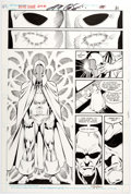 Original Comic Art:Panel Pages, Bill Willingham and Dick Giordano Justice League Annual #1Story Page 27 Original Art (DC, 1...