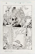 Original Comic Art:Panel Pages, Steve Scott and Walden Wong New Warriors #1 Page #22(Marvel, 1999)....