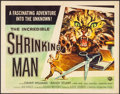 "Movie Posters:Science Fiction, The Incredible Shrinking Man (Universal International, 1957). HalfSheet (22"" X 28"") Style B, Reynold Brown Artwork. Science..."