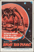 "Movie Posters:Science Fiction, The Angry Red Planet (American International, 1960). One Sheet (27""X 41""). Science Fiction.. ..."